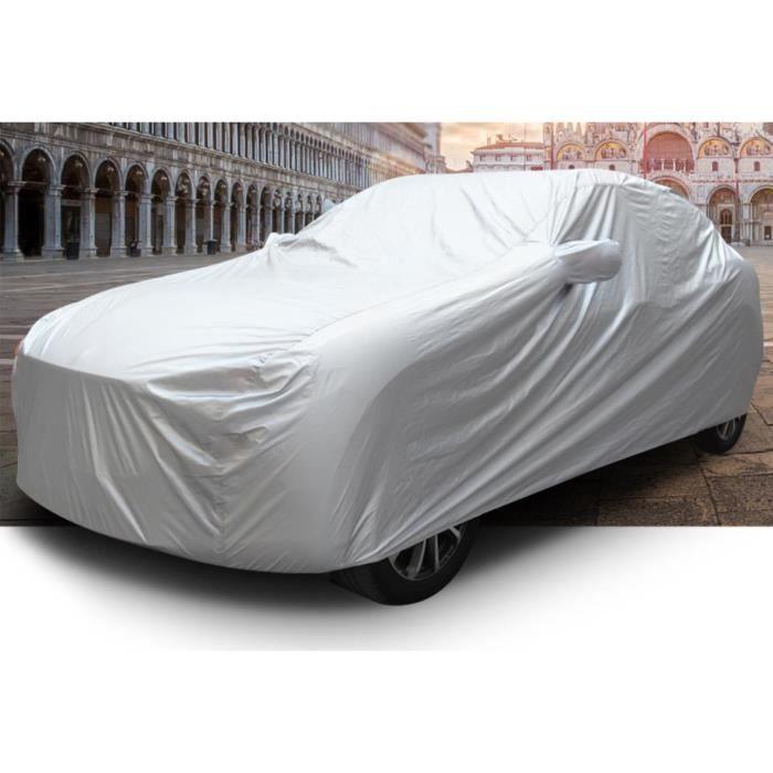 Bâche SUV Couverture Imperméable Voiture Anti UV Neige Poussière 480 * 180 * 150 CM Housse Protection Etanche Voiture 4X4