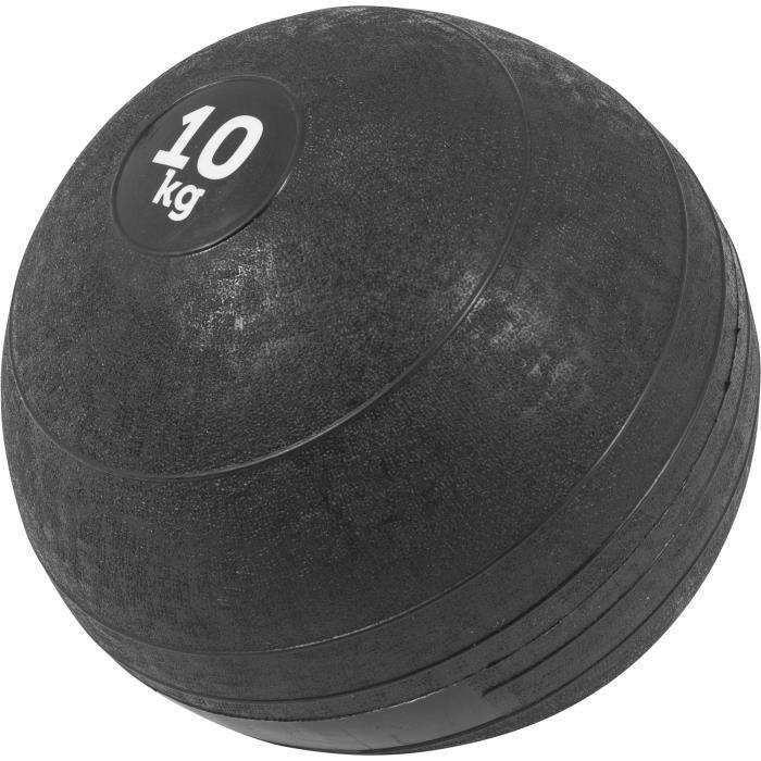 Gorilla Sports - Slam Ball Caoutchouc de 3kg à 20Kg - 10 KG