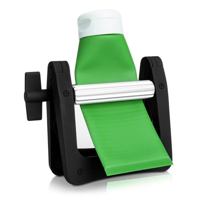 kwmobile Vide-tube de dentifrice - Squeezer écrase tube pour tubes dentifrice peinture crème maquillage - Presse-tube enrouleur