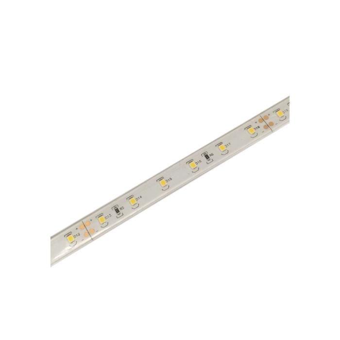 Ruban LED puissant 60 LED/m 8W/m étanche IP68 - Blanc Jour 6000K
