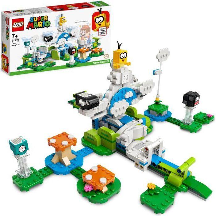 LEGO® 71389 Super Mario Ensemble d'Extension Le Monde du Ciel de Lakitu, Jouet pour Enfants de 7 ans, Jouet à Collectionner