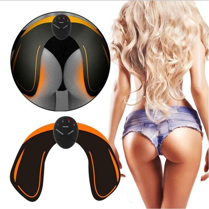 QVBOKAY Hips Trainer Electrostimulation fessier pour Aider à Façonner Le Muscle et à Sculpter Les Courbes et Raffermir Fesses.
