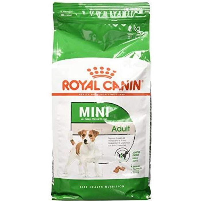 ROYAL CANIN Mini Adult Nourriture pour Chien 2 kg 02RCMINA2