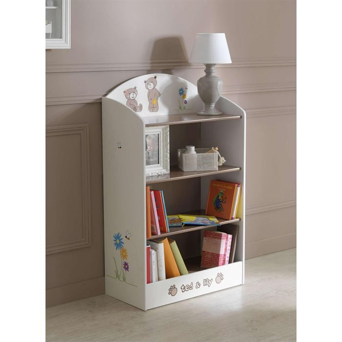 biblioth que enfant lilly achat vente armoire biblioth que enfant lilly cdiscount. Black Bedroom Furniture Sets. Home Design Ideas