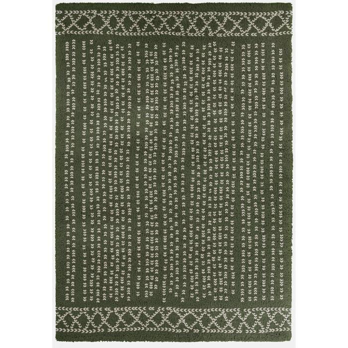TAPIS CONTINENTAL Tapis de salon laineux 200X290 cm Vert