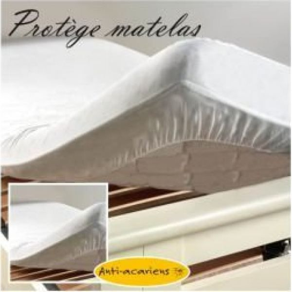 protege matelas 160x200 impermeable achat vente. Black Bedroom Furniture Sets. Home Design Ideas