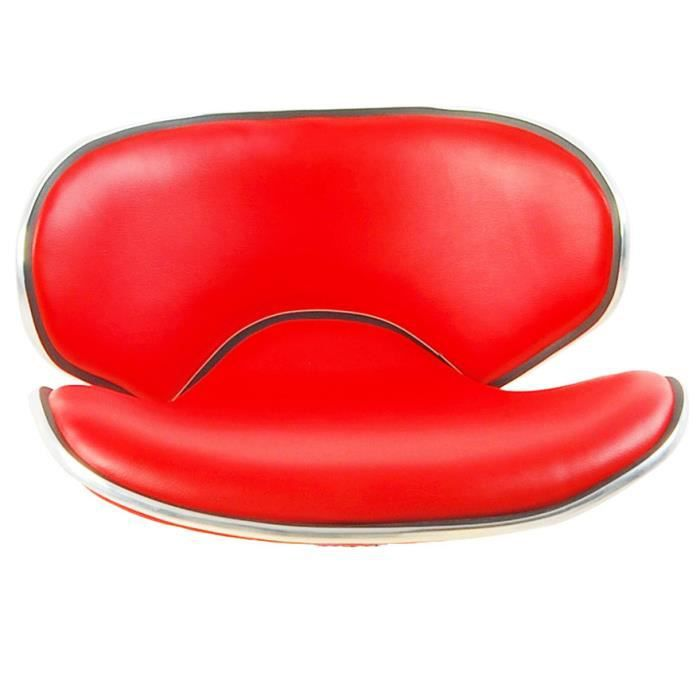 ASSISE DE TABOURET POKER ROUGE