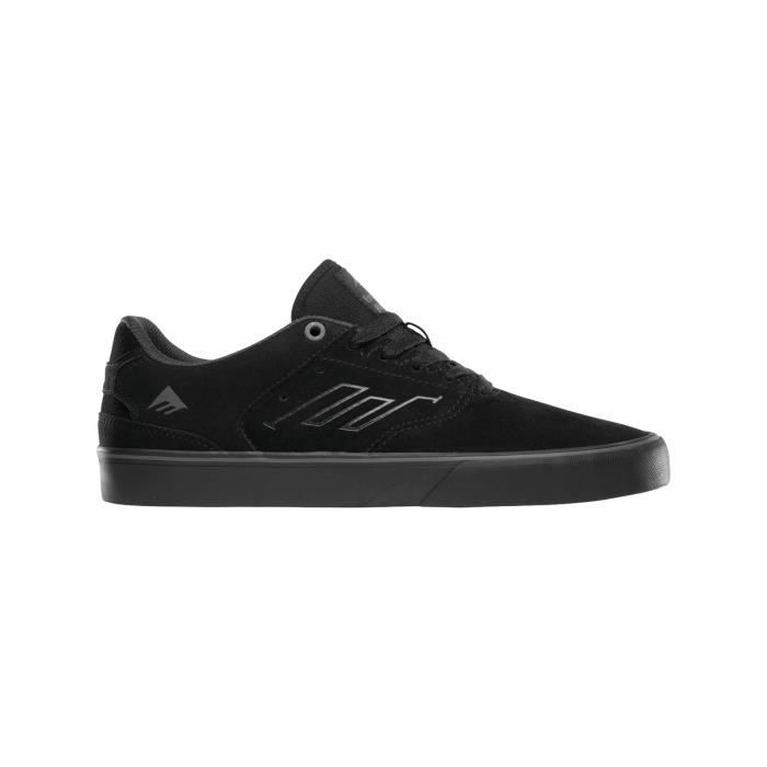 Chaussure Emerica The Reynolds Low Vulc Noir-Noir-Gris