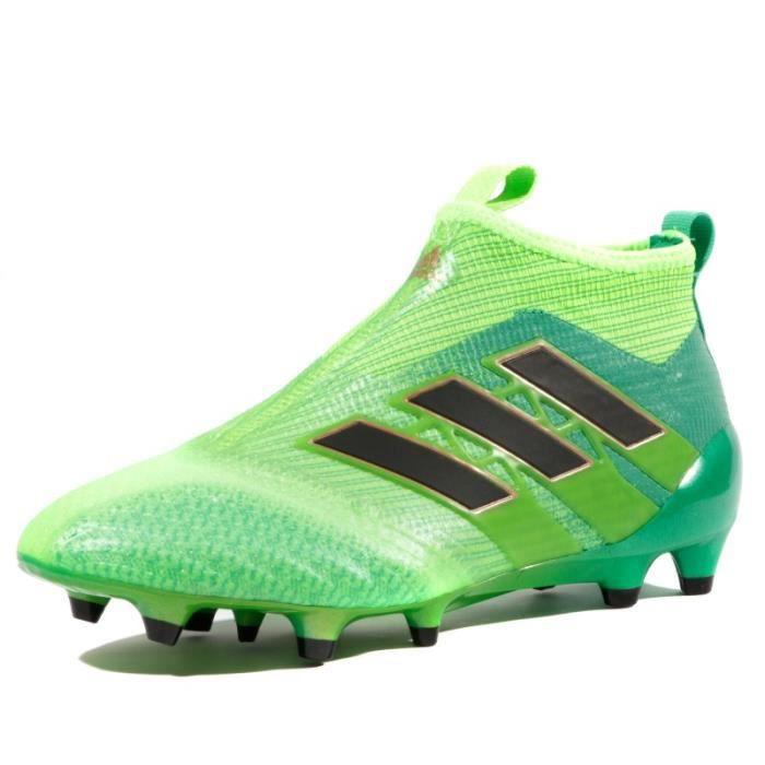 Ace 17+ Purecontrol FG Garçon Chaussures Football Vert