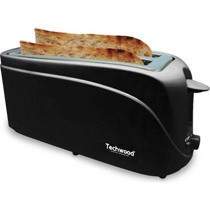techwood tgp506 grille pain noir achat vente grille pain toaster cdiscount. Black Bedroom Furniture Sets. Home Design Ideas