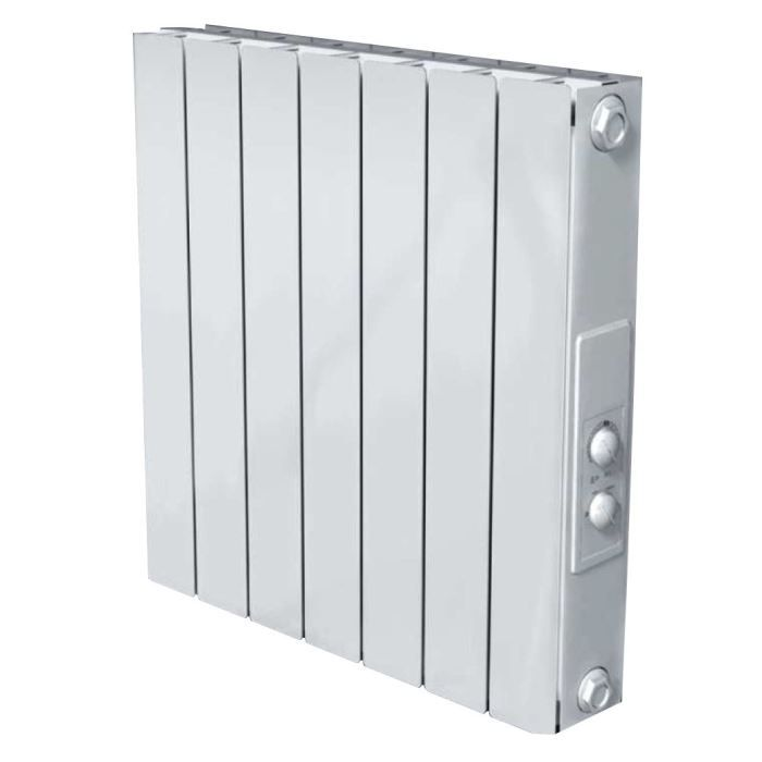 radiateur aluminium inertie s che capella 1500w achat vente radiateur panneau capella. Black Bedroom Furniture Sets. Home Design Ideas