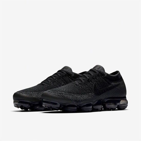 Baskets Nike Air Vapormax Flyknit 2 Homme Chaussures 849558-007 Entrainement Noir/Noir
