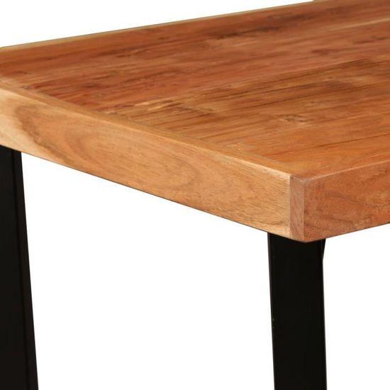 x 107 Sesham Bois 60 x de de cm bar massif 60 Table nwmNO80v