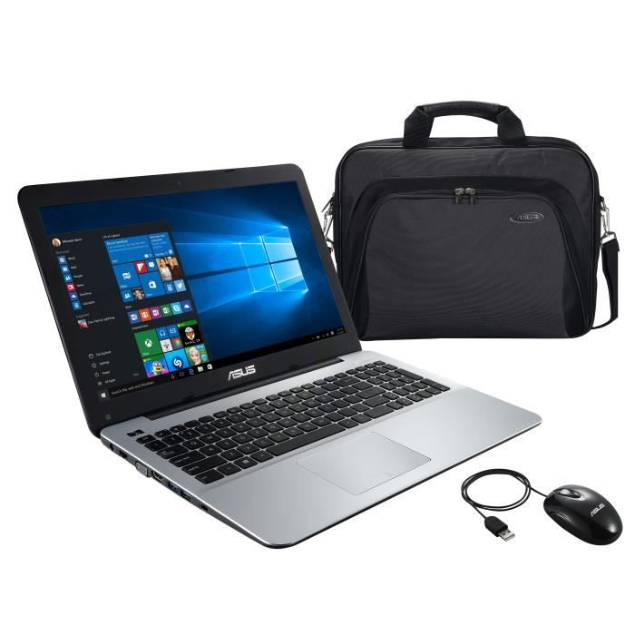 Asus pc portable f555ba xx238t 15.6 4 go de ram windows 10 amd dual core a9 9410 amd radeon r5 graphics disque dur 1to