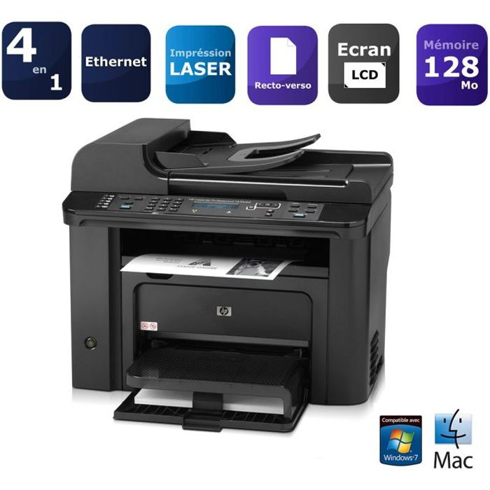 hp laserjet pro m1536dnf ce538a prix pas cher soldes. Black Bedroom Furniture Sets. Home Design Ideas