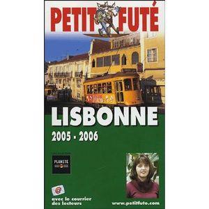 AUTRES LIVRES GUIDE PETIT FUTE ; COUNTRY GUIDE; LISBONNE (EDITIO
