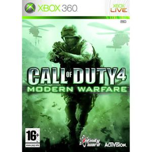 JEUX XBOX ONE XBOX 360 CALL OF DUTY MODERN GUERRE EN ACTIVISION