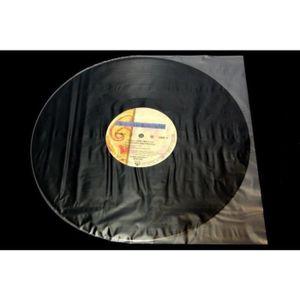 10 intercalaires Noirs en Plastique pour Ranger Vos vinyles 45 Tours
