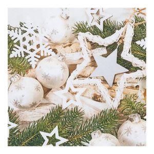 3 Plis X 20 Joyeux Noël-Noël Papier Table Cover /& Serviettes Entièrement neuf sous emballage Santa