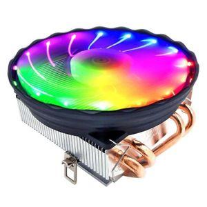 VENTILATION  Ventilateur processeur Refroidisseur RGB LED Pour