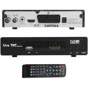 RÉCEPTEUR - DÉCODEUR   Décodeur TNT HD MPEG-4 Terrestre HDMI PVR USB DVB-