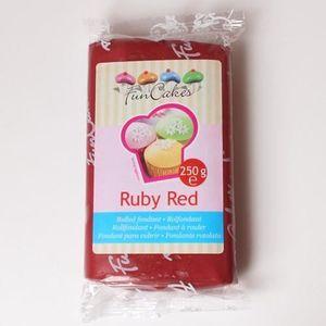 PATE A SUCRE Pâte à sucre Ruby FunCakes