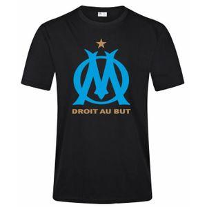 T-SHIRT Olympique de Marseille Logo Graphique T Shirt Homm