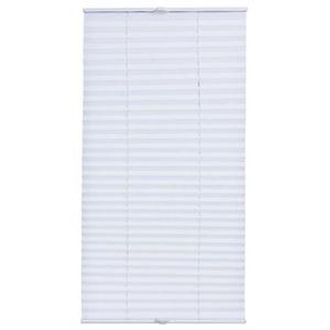 STORE DE FENÊTRE neu.haus plissé prêt à fixer (60 x 200 cm) (blanc)
