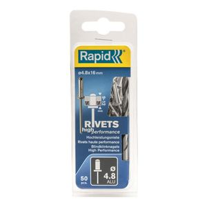 RIVET RAPID Rivets hautes performances 4,8x16mm en alu