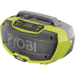 RADIO DE CHANTIER RYOBI Radio de chantier stéréo Bluetooth 18Volts