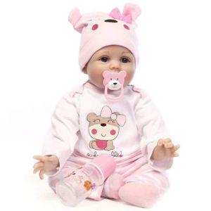 POUPÉE Realiste Bebe Poupee 22 Pouces 55 cm Reborn Toddle