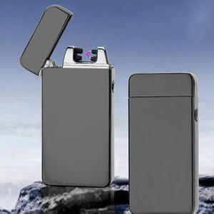 BRIQUET USB Briquet Electrique Double Arc électrique sans