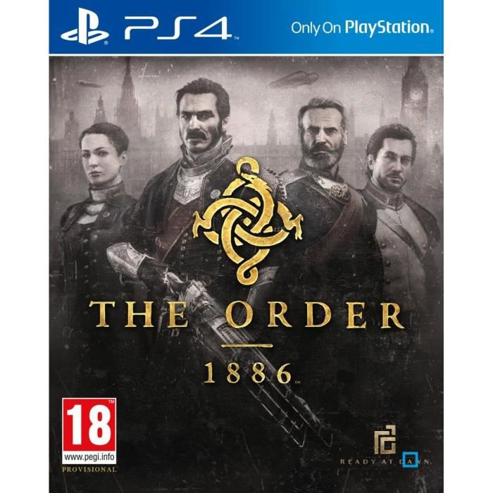 The Order 1886 Jeu PS4