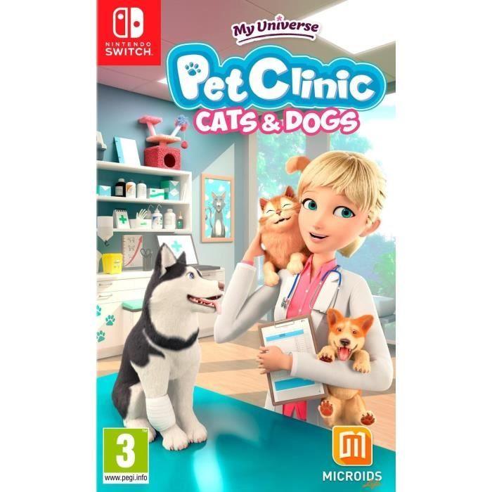 My Universe: Pet Clinic Cats & Dogs Jeu Switch