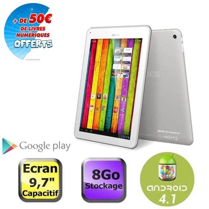 informatique tablettes tactiles ebooks archos b titanium go f