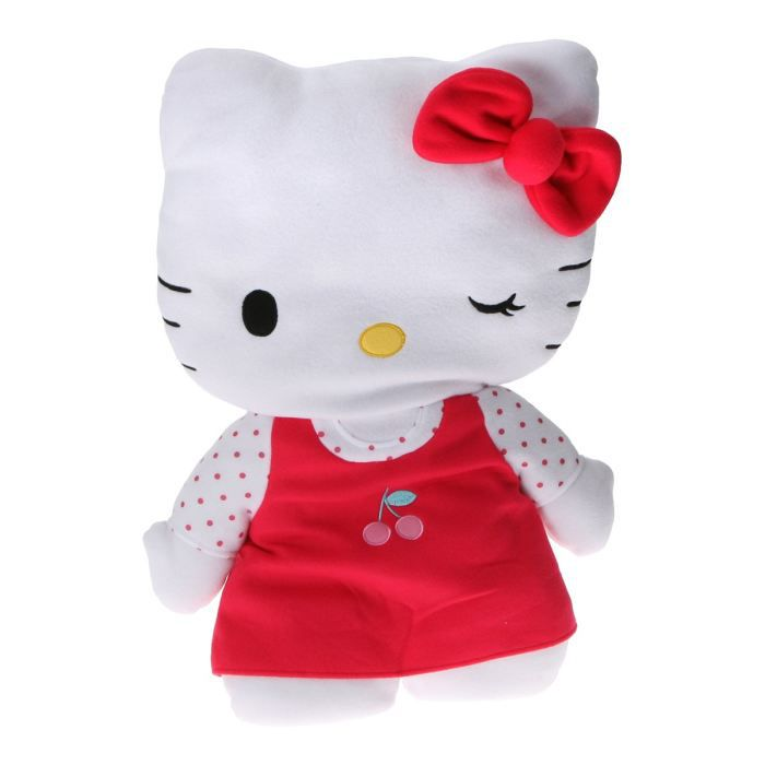 pret a porter bebe puericulture hello kitty coussin clin d oeil f