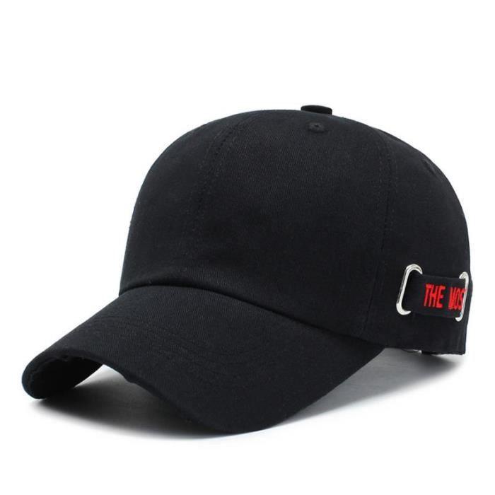 Casquette De Baseball Tout-Match A La Mode Noir1