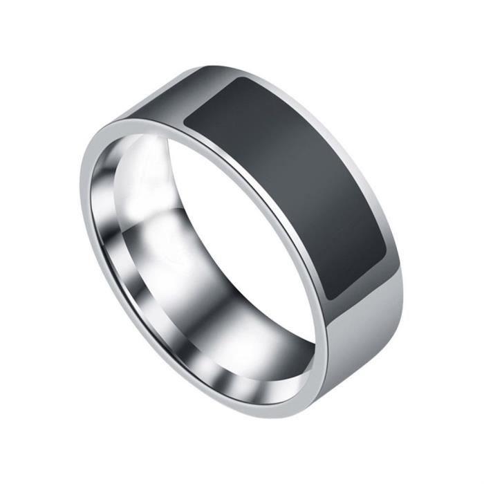 Anneau intelligent étanche multifonctionnel NFC anneau numérique de doigt d'usure intelligente_YS1324