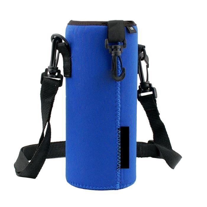 Porte-bouteille 1000ML Porte-sac isotherme Housse de sangle pour sacoche extérieure da301