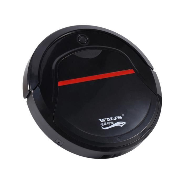 Aspirateur robot Mini Balayeuse de nettoyage de sol rechargeable 11 - Noir