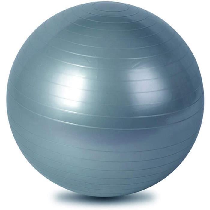 SWISS BALL n de Gymnastique 65cm Boule de Yoga AntiRafale Boule de Fitness antideacuterapante Balle de Gymnastique pour Pilates 682