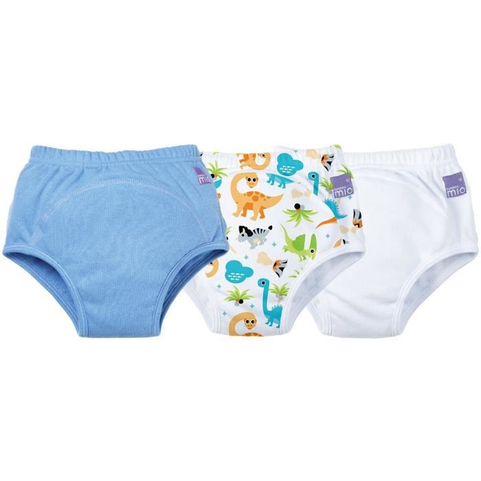 Bambino Mio - Potty - Potty Training Pants 3 Pack Dino 2 a 3 Years culottes d'apprentissages