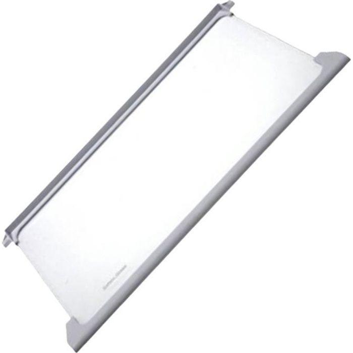 Clayette en verre compléte (295170-7596) - Réfrigérateur, congélateur - BEKO, OCEANIC, SABA (18456)
