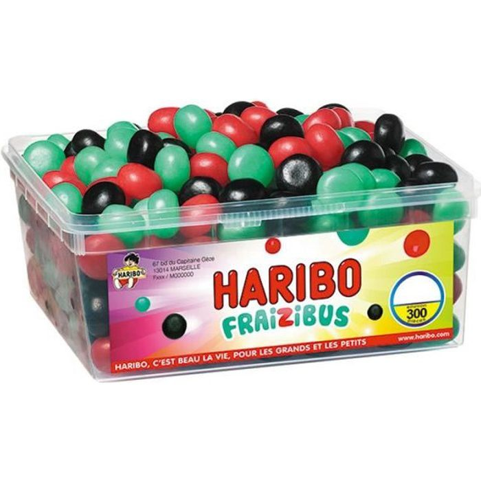 Fraizibus Haribo (Boîte de 300 pièces)