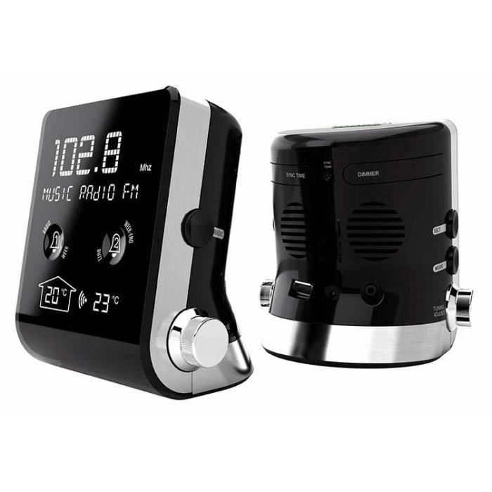 THOMSON CT390 Radio Réveil - RDS - Avec température