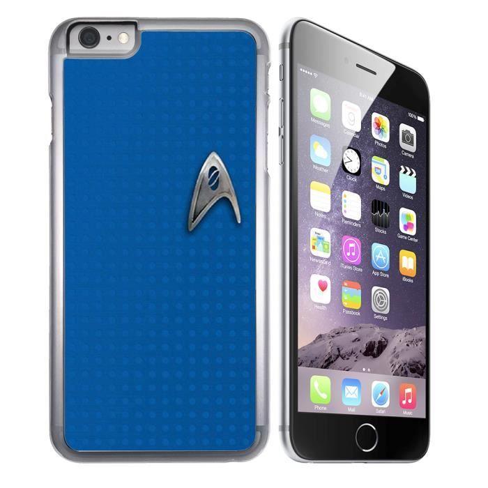 Coque iPhone 8 Plus Star Trek Bleu