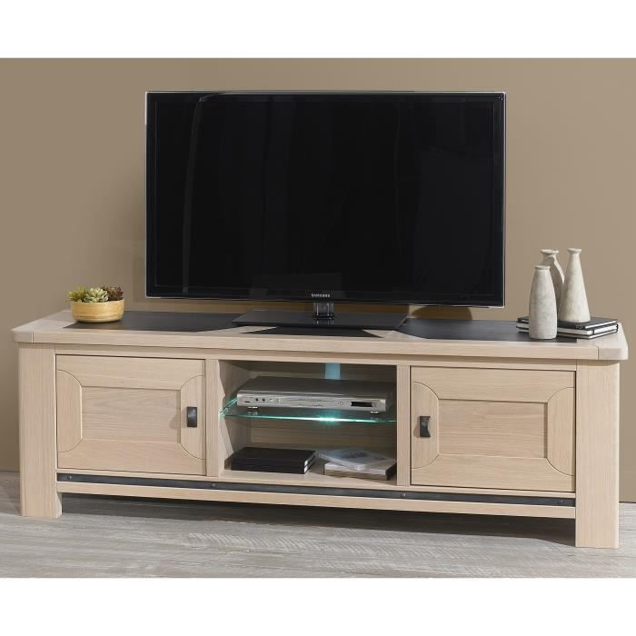 meuble t v home cinema alizia achat vente meuble tv. Black Bedroom Furniture Sets. Home Design Ideas