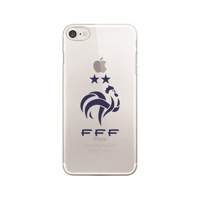 iPhone 6 - 6s - Coque Rigide FFF 2 Deux Etoiles -