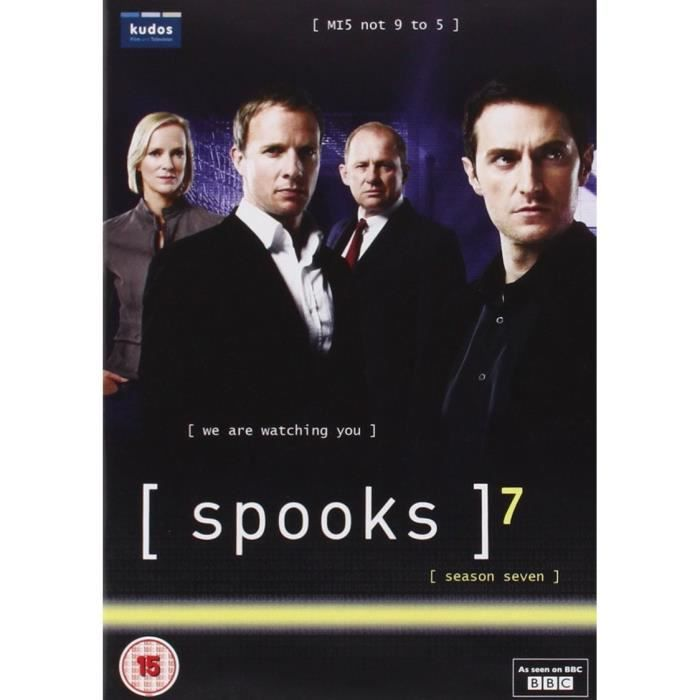 DVD FILM Spooks   Series 7 Repackaged (5 Dvd) [Edizione: Re