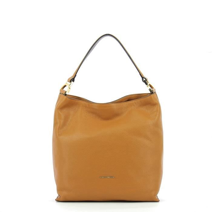 Coccinelle - Sac épaule in leather - AD5130201-CUIR-UN - CUIR